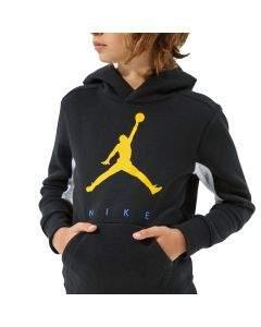 Jordan Felpa da Ragazzo con Cappuccio Jumpman Nera