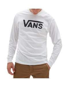 Vans T-Shirt da Uomo Maniche Lunghe Classic Bianca