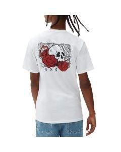 Vans T-Shirt da Uomo Rose Bed Bianca