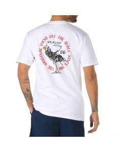 Vans T-Shirt da Uomo Speak Easy Bianca