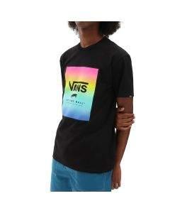 Vans T-Shirt da Uomo Classic Print Box Nera