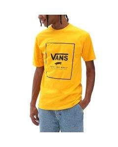 Vans T-Shirt da Uomo Classic Print Box Gialla