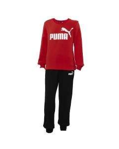 Puma Tuta da Ragazzo Logo Rossa