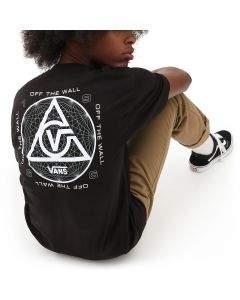 Vans T-Shirt da Uomo Three Points Nera